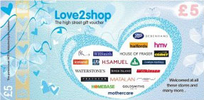 Love2shop voucher